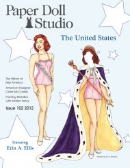Paper Doll Studio Magazine Issue 102, The United States
