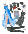 Doris Day Film Fashions Paper Dolls