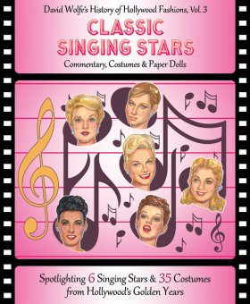 Classic Singing Stars Paper Dolls