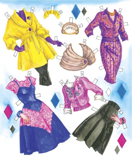 TV Moms Paper Dolls - Click Image to Close