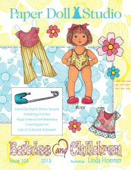 Paper Doll Studio Magazine Issue 105, Children