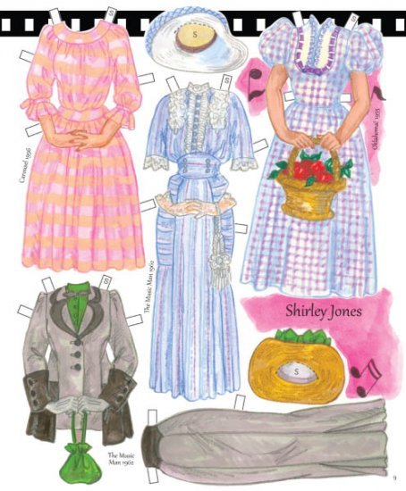 Classic Singing Stars Paper Dolls - Click Image to Close