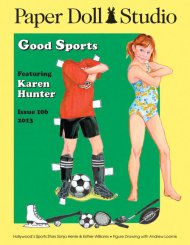 Paper Doll Studio Magazine Issue 106, Good Sports
