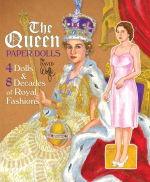 The Queen Paper Dolls