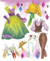 TV Moms Paper Dolls
