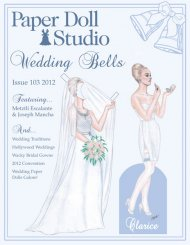 Paper Doll Studio Magazine Issue 103, Wedding Bells