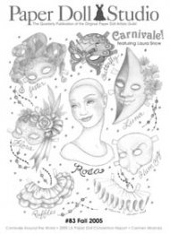 Paper Doll Studio Magazine Issue 83, Carnivale