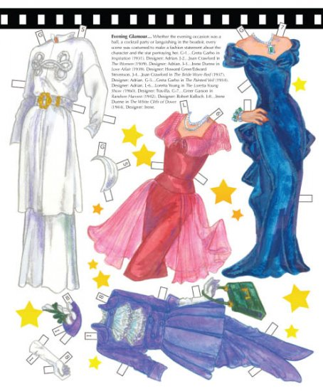 Classic Drama Queens Paper Dolls - Click Image to Close