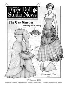 Paper Doll Studio Magazine Issue 79, The Gay Nineties