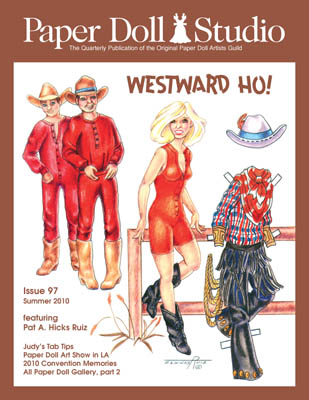 Paper Doll Studio Magazine Issue 97, Westward Ho! - Click Image to Close