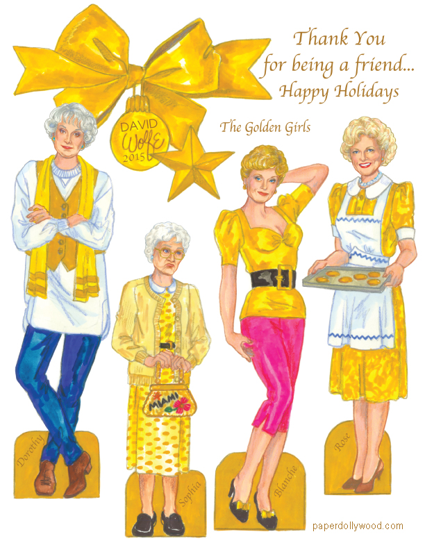 golden girls christmas