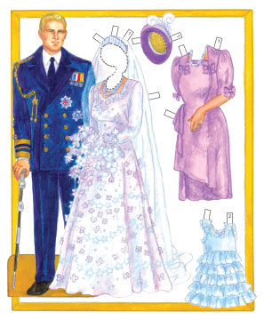The Queen Paper Dolls - Click Image to Close