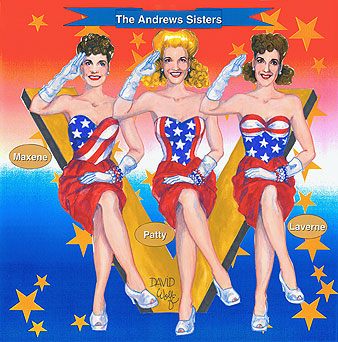 Andrews Sisters front cover