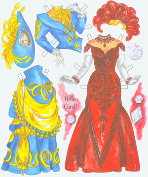 Carol Channing Paper Dolls - Click Image to Close