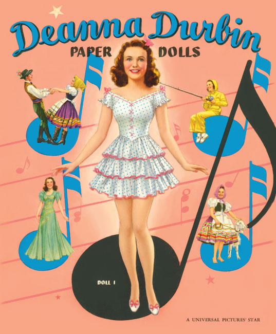 Deanna Durbin Paper Dolls - Click Image to Close