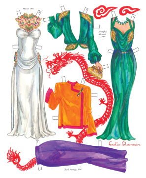 Femme Fatales of Film Noir Paper Dolls - Click Image to Close
