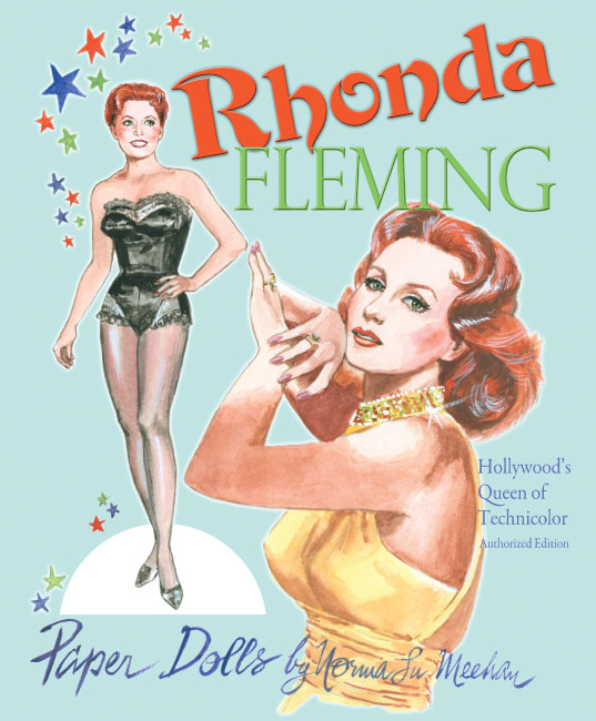 Rhonda Fleming Paper Dolls by Norma Lu Meehan - Click Image to Close