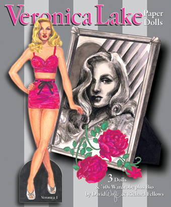 Veronica Lake Paper Dolls - Click Image to Close